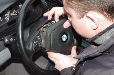 Замена подушки безопасности на руле