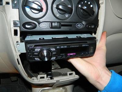 Установка магнитолы на авто